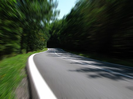 Road, Speed, Highway, Moving, Street