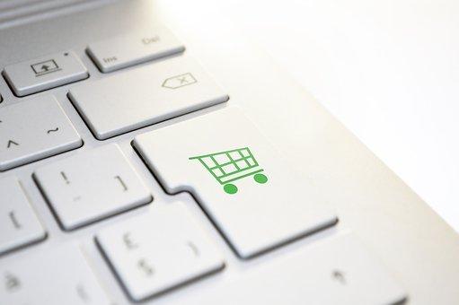 Buy, Shopping Cart, Keyboard, Online