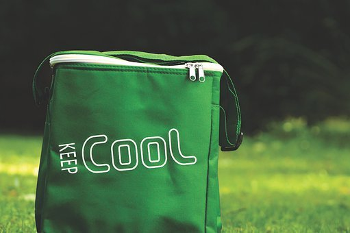 Cooler Bag, Cool, Coolness, Fabric