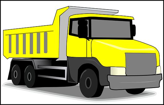 Truck, Loader, Equipment, Cargo, Loading