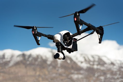 Drone, Flying, Floating, Camera