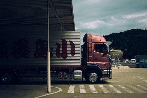 Truck, Lorry, Transportation, Logistics