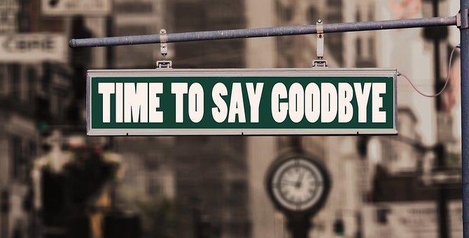 Farewell, Say Goodbye, Bye, Road, Shield