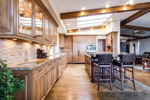 Kitchen, Dining, Interior, Home, Room