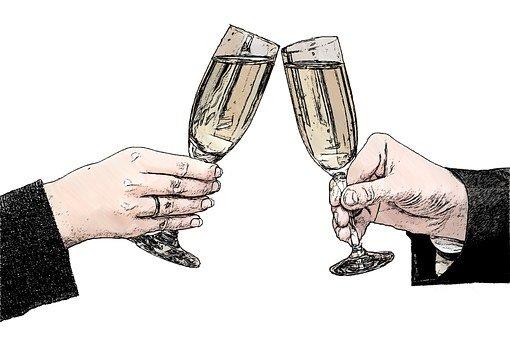 champagne glasses 821435 340