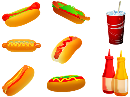 hot dogs 3946613 340